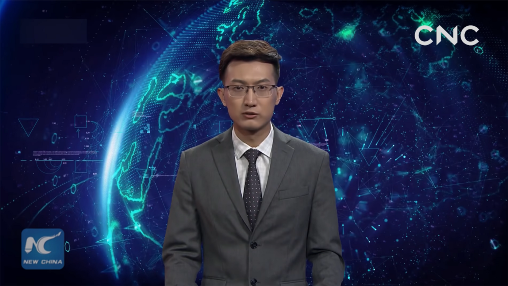 First AI Anchors Debut in China