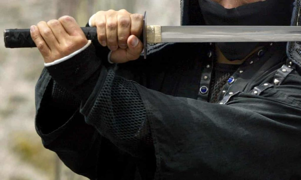 Man Requests SWORD Fight with his Ex-Wife