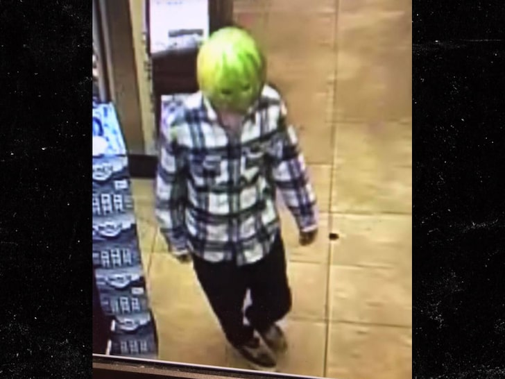 Men ROB Store while Wearing Watermelon on Heads