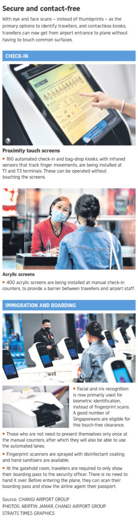 """CHANGI Airport Prepares for the """"New Normal"""" As It Goes Touch-Free"""
