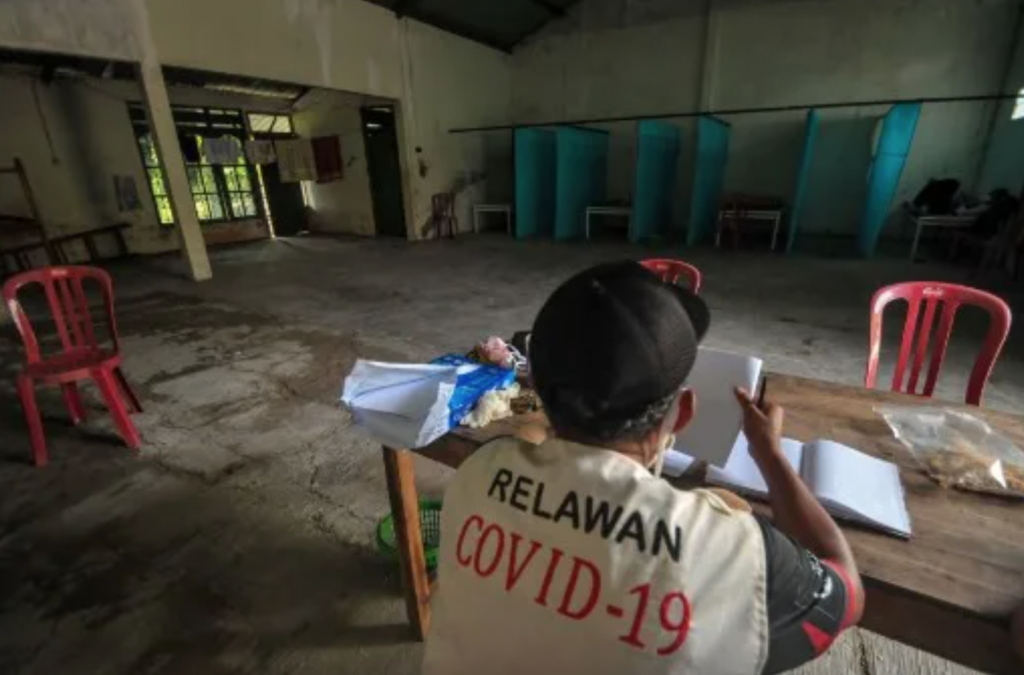 INDONESIA Locks Quarantine Breakers Inside a Haunted House
