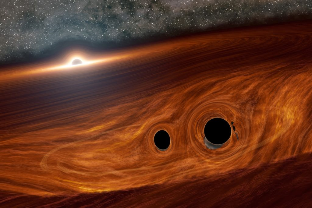Astronomers Spotted Collision of Two BLACK HOLES