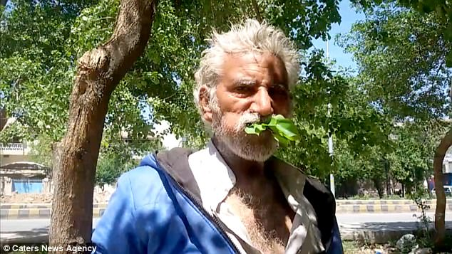 Man Survives for 25 Years by Eating Only LEAVES
