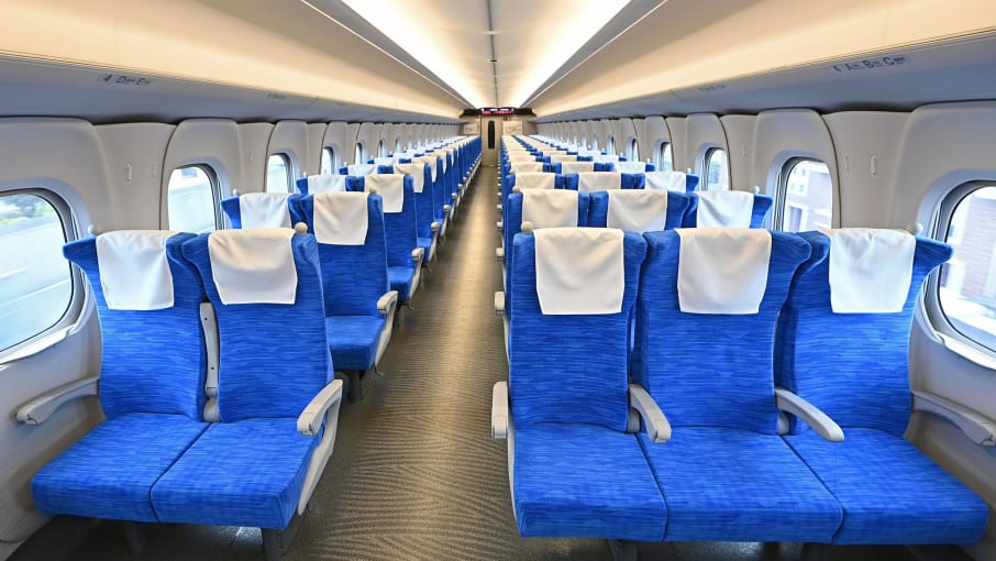 JAPAN Debuts Bullet Train N700S that Can Operate During Earthquake
