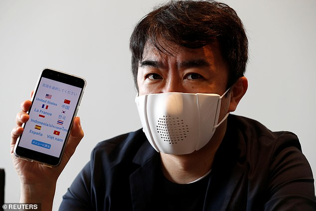 """Japanese Researchers Create """"SMART MASK"""" with Built-in Speakers And Software"""