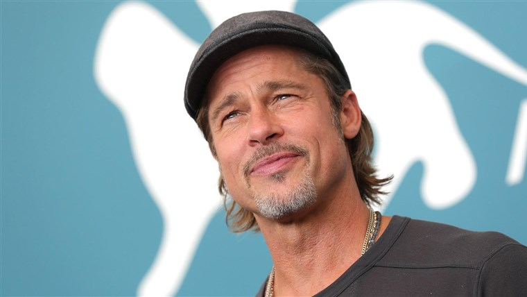 BRAD PITT Spotted Hand-Delivering Groceries to LA Housing Project