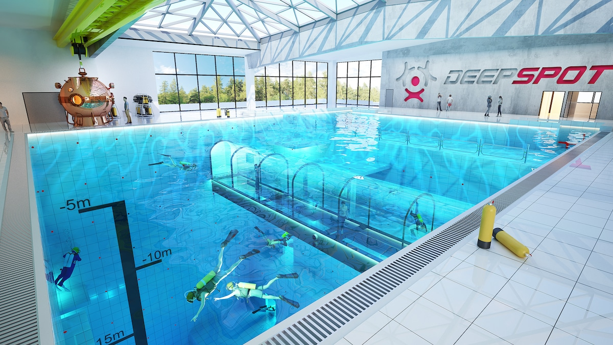 ICYMI: World's Deepest Pool Finally Opens in Poland