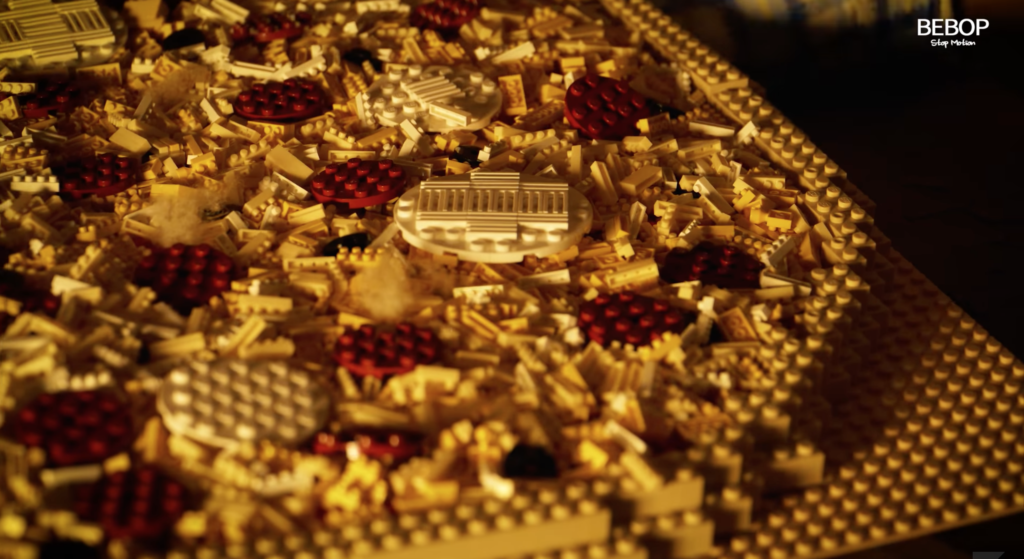 LEGO Pizza Video Goes Viral for Looking too Good to be True