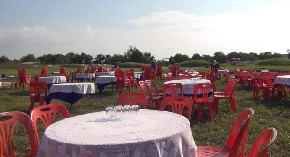 Family Holds BANQUET in the Middle of a Cemetery for Merit