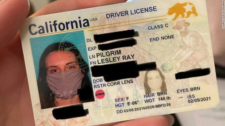 Woman's New ID with Photo of Her Wearing a Face Mask Was a Mistake, Says Agency