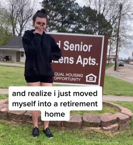 TEENAGER Accidentally Moved into a Retirement Home