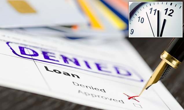 Applying for LOAN during MIDDAY More Likely to be REJECTED, Study Claims