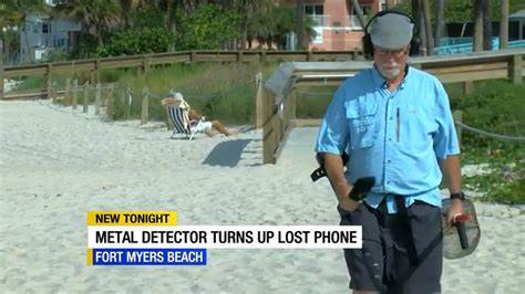 Man Discovers iPhone on BEACH Using Metal Detector