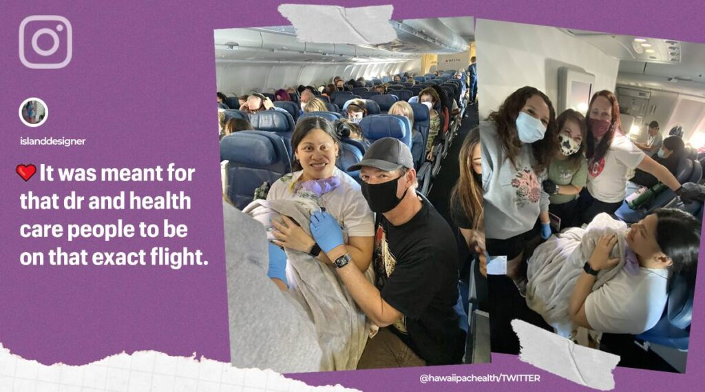 Woman Doesn't Know She's PREGNANT, Gives Her Birth during a Flight