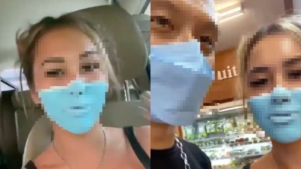 Russian woman deported from Bali after donning face paint as surgical mask
