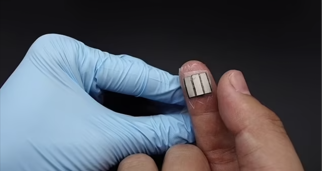 Scientists Developing Next PHONE CHARGER via Person's FINGERTIPS