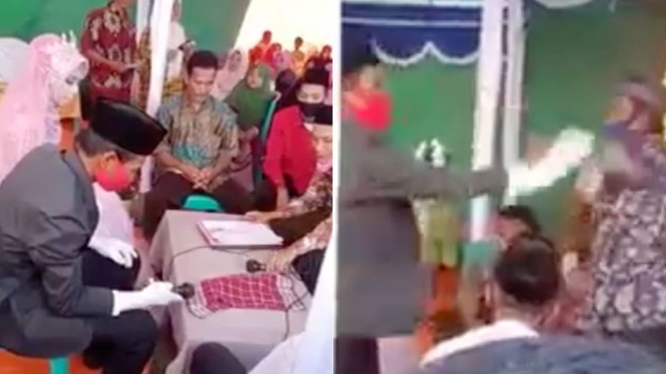 WATCH: Man Divorces Wife Seconds after WEDDING CEREMONY